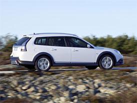 Saab 9-3X na českém trhu: Off-road look je pro švédské kombi zdarma (první cena 835 tisíc Kč)