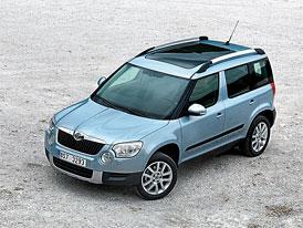 Škoda Yeti dostane motor 1,4 TSI (90 kW) a 2,0 TDI (103 kW) s DSG