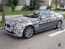 Spy Photos: BMW 5 (F10) - Transplantace větších ledvin (nové foto)