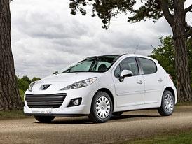 Peugeot 207 Economique: Také Peugeot zezelenal
