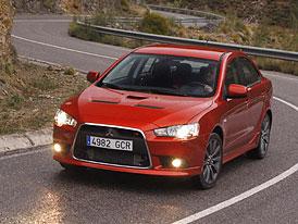 Mitsubishi Lancer Ralliart: Polidštěné Evo stojí 839.900,- Kč