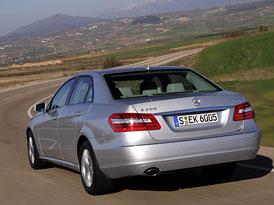 Mercedes-Benz E 200 CGI a E 200 CDI: Nový čtyřválcový základ pro třídu E
