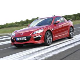 Mazda RX-8: Facelift se představí ve Frankfurtu, v ČR se prodávat nebude