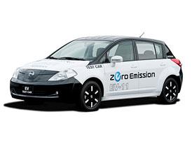 Nissan EV-11: Tiida jako elektromobil na každodenní použití
