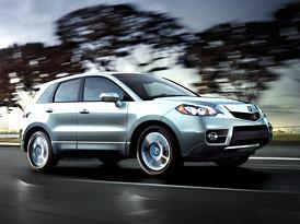 Acura RDX: Modernizované SUV pro modelový rok 2010