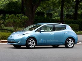 Británie poskytne finanční podporu Fordu a Nissanu. Výroba elektromobilu Leaf v Sunderlandu