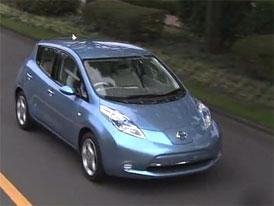 Video: Nissan Leaf – Nový elektromobil z Japonska