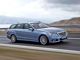Mercedes-Benz třídy E Kombi: Oficiální informace a fotografie