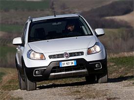 Fiat Sedici po faceliftu: Ceny na českém trhu začínají na 334.000,- Kč