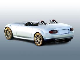 Mazda MX-5 Superlight: Studie bez střechy a bez čelního skla míří do Frankfurtu