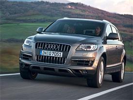Audi Q7 zlevnilo o 50 až 66 tisíc Kč, základ stojí 1,441 milionu Kč