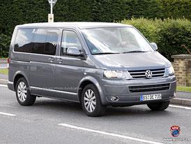 Spy Photos: Přísnější pohled modernizovaného Volkswagenu Multivan