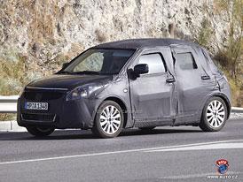 Spy Photos: Suzuki Swift - Japonsk� mini v nov�m p�ijede p��t� rok (nov� foto)