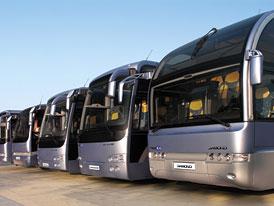 Autobusy Temsa:  Příchod do Česka