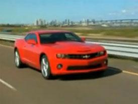 Video: Chevrolet Camaro SS – Interiér i karoserie amerického kupé