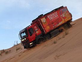 Reportáž z Jordánska - Renault Trucks Cape to Cape