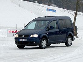 Jízdní dojmy: Volkswagen Caddy 4Motion - Kamzík