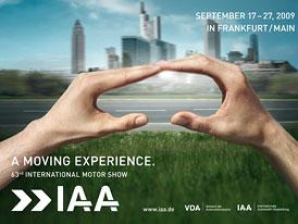 IAA 2009: Frankfurtský autosalon navštívilo 850 tisíc lidí