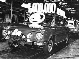 Škoda 100/110 slaví 40 let od zahájení výroby