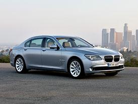 BMW ActiveHybrid 7: Silný, ale jen mild