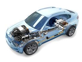 BMW ActiveHybrid X6: V Německu stojí 102.900 Euro (2,65 milionu Kč)