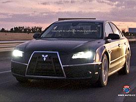 Spy Photos: Nové Audi A8 jako nejdražší Mitsubishi na světě
