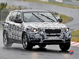 Spy Photos: Nové BMW X3 dospěje do rozměrů první X5