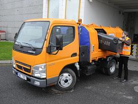 Test: Mitsubishi Fuso Canter 3S13 - Obratný komunál