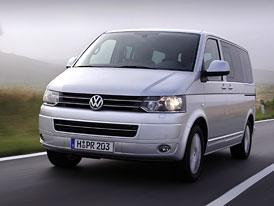 Volkswagen T5: Facelift pro Transporter, Multivan, Caravelle a Califronia