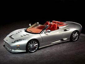 Nizozemský Spyker přesune výrobu do Velké Británie