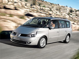Renault Espace: Vánoční sleva 100 tisíc Kč, základní 2,0 Turbo (125 kW) nyní za 549.900,- Kč