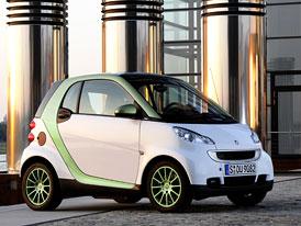 Výroba elektrického Smartu ForTwo začne v listopadu 2009