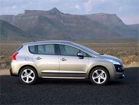 Peugeot 3008 1,6 THP: 5 kW navíc a Euro 5 za stejnou cenu (od 569.900,- Kč)