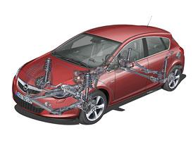 Opel Astra přijede s novým podvozkem, zadní vlečená náprava doplněna o Wattův přímovod