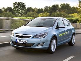 Opel Astra dostane motor 1,4 Turbo (103 kW, 200 Nm), EcoFlex pak diesel se spotřebou 4,2 l/100 km