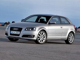 Audi A3: Motor 1,2 TSI (77 kW) tak� pro nejmen�� v�z se �ty�mi kruhy