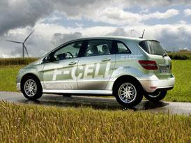 Mercedes-Benz třída B F-Cell: Palivové články jdou do sériové výroby
