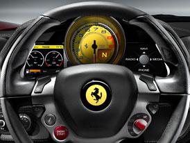 Ferrari 458 Italia: Řidič až na prvním místě (nové foto + informace)