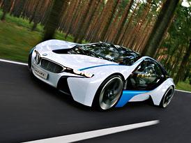 BMW Vision EfficientDynamics: Vznětový tříválec a k tomu 2 el.motory pro sportovní kupé