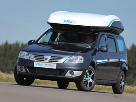 Dacia na prázdniny: Hymer Young Activity Van III