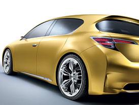 Lexus LF-Ch: Prvn� obr�zek hatchbacku od Lexusu