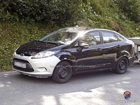 Spy Photos: Ford Fiesta Sedan pro americký trh
