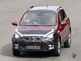 Spy Photos: První facelift pro Nissan Qashqai