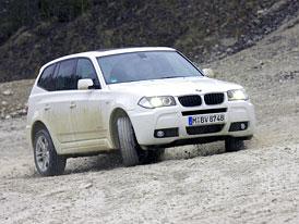 BMW X3 xDrive18d: Nejslabší X3 stojí 970 tisíc Kč