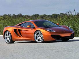 Cena vozu McLaren MP4-12C: Připravte si 5 milionů Kč