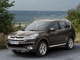 Citroën C-Crosser: Dvouspojková převodovka DCS pro SUV s dvojitým šípem