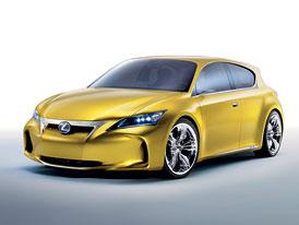 Lexus LF-Ch: Lexus vstoupí do nižší střední třídy v roce 2010
