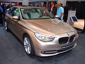 Frankfurt živě: BMW 5 GT – První dojmy