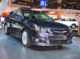 Frankfurt živě: Subaru Legacy – První dojmy
