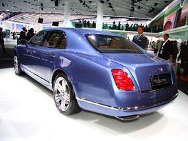 Frankfurt živě: Bentley Mulsanne – První dojmy